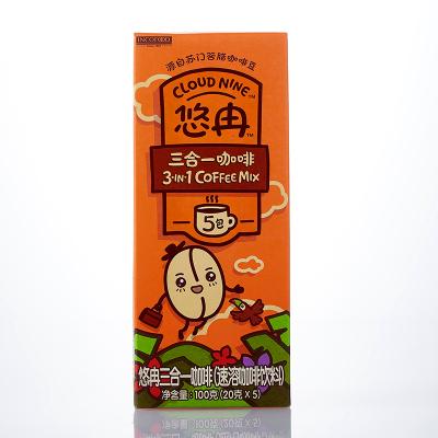 悠冉三合一速溶咖啡5條*20g