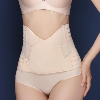黛立香產后收腹帶 2020束身帶束身女士條型塑身帶夏季產后束腰透氣加強型收腹順剖通用美體收腹美女束身腰帶美體收腰帶