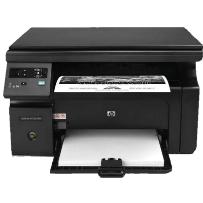 惠普(HP)LaserJet Pro M1136 黑白多功能激光一體機 (打印 復印 掃描) 學生打印作業打印