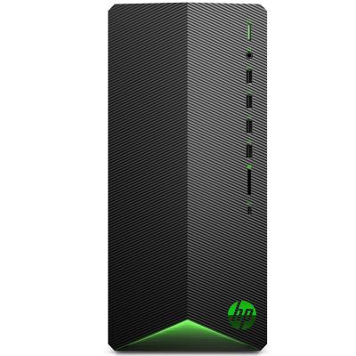惠普(hp) 暗影精靈6 英特爾酷睿i5游戲臺式電腦主機(十代i5-10400F 8G 1TB機械+256GB固態 GTX1650 4G獨顯)標準版