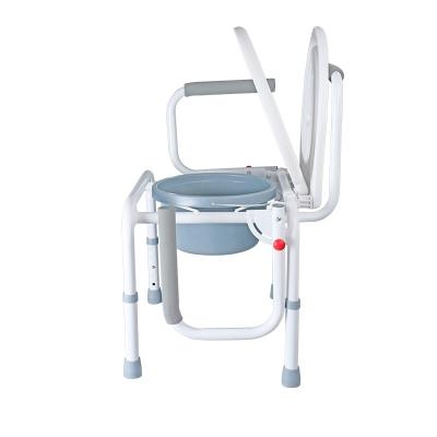可孚坐便椅可折疊座便器洗澡椅防滑坐便器折疊老人孕婦馬桶椅子痔瘡坐浴盆坐便椅Cofoe
