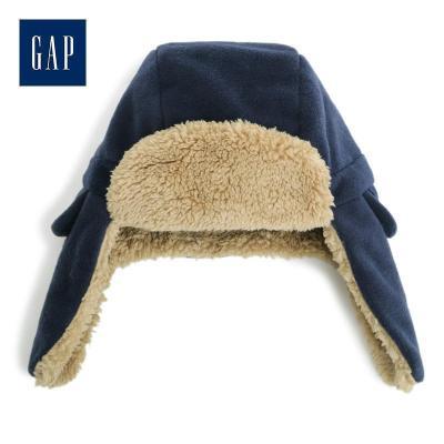 Gap男童護耳雷鋒帽473806 仿羊羔絨帽子
