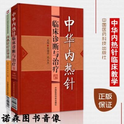 新品 套裝2冊 中華內熱針臨床診斷與治療+內熱針療法導讀 中國醫藥科技出版社 內針熱療