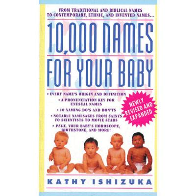 10,000 NAMES FOR YOUR BABY(ISBN=9780440223368) 英文原版
