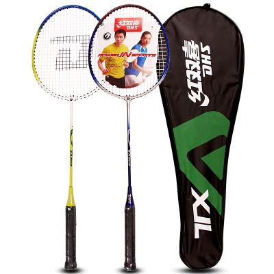 红双喜DHS羽毛球拍对拍E-TX202-2已穿线控球型业余初级适合家庭使用业余娱乐公司团建