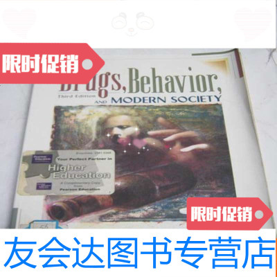 【二手9成新】原版《DRUGSBEHAVIORANDMODERNSOCIETY》原版社科类 97811222590
