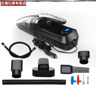 車載吸塵器車用無線充電汽車用小型迷你大功率強力車內家車兩用機