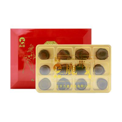 权禄(quanlu) 鹿茸 红粉片 10g 礼盒装 男女通用 干鹿茸片