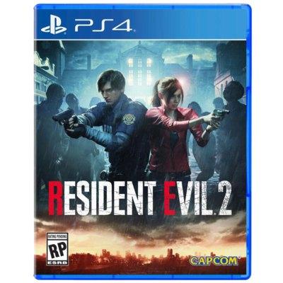 索尼(SONY) PS4 Slim Pro 全新原封游戲光盤 動作冒險 生化危機2 惡靈古堡 重制版 中文