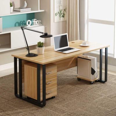尋木匠辦公電腦桌簡約經理主管桌椅組合家用單人職員老板桌寫字臺帶抽屜