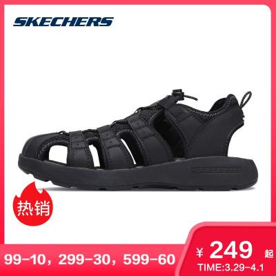 Skechers斯凱奇男鞋時尚透氣涼鞋男 輕便舒適休閑鞋 51834