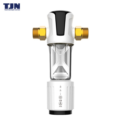 特潔恩(tjn)前置過濾器家用反沖洗凈水器全屋自來水過濾器AS25全自動版 大流量中央凈水機