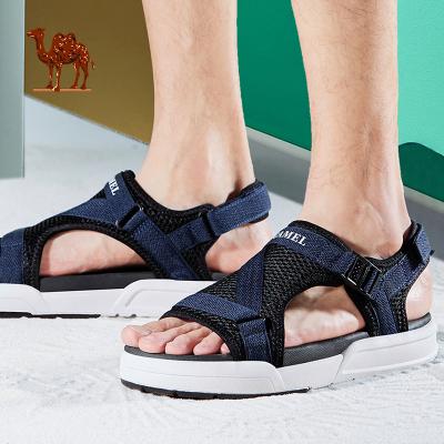 CAMEL駱駝戶外涼鞋 2019夏季新款情侶款時尚百搭海邊外穿男女沙灘鞋