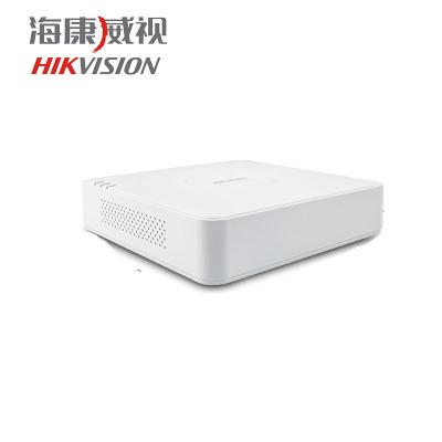 ??低暰W絡4路NVR數字高清硬盤錄像機DS-7104N-F1 手機監控主機 不含硬盤