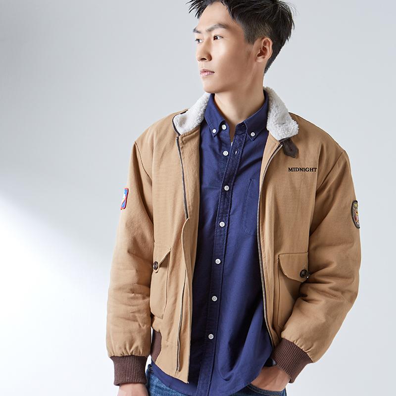 苏宁极物 男士牛津纺休闲衬衫 蓝色 170/92A