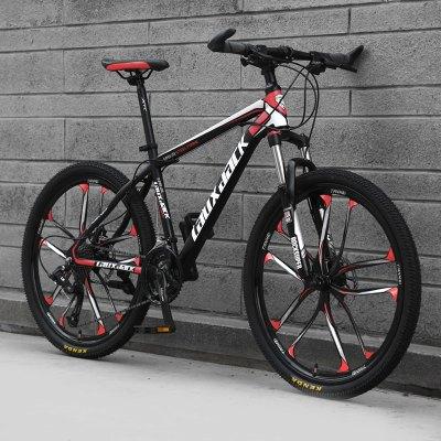 闪电客山地车自行车成人男女变速碟刹减震超轻学生越野单车26寸