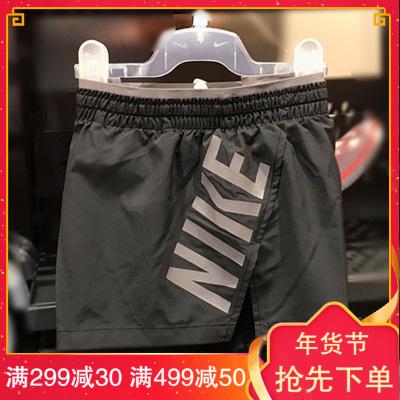 NIKE 耐克女子速干健身透气舒适休闲跑步运动短裤BQ5936-010 D
