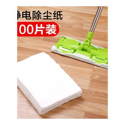 权夫人静电除尘纸平板擦地清洁拖布 一次性地板拖把拖地吸尘纸巾替换布
