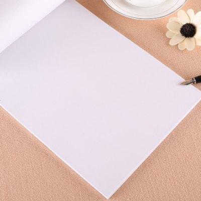 钢笔硬笔书法练习用纸 100张临摹纸 半透明拷贝纸书法绘画练习纸字帖练字纸 蒙纸 字帖搭档