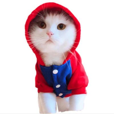 貓貓衣服狗狗衣服冬裝泰迪寵物衣服貓咪衣服秋冬小貓衣服英短貓咪用品