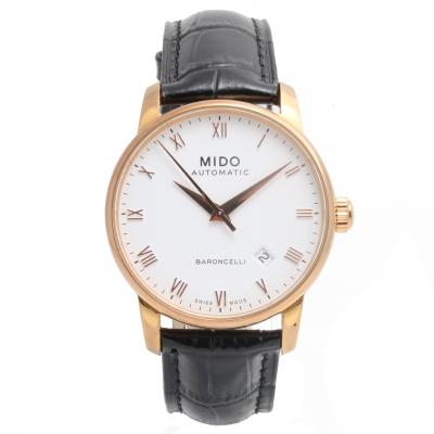 【二手95新】美度Mido貝倫賽麗系列M8600.2.26.8男表自動機械奢侈品鐘手表腕表