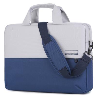 英制(BRINCH)電腦包13.3寸適用小米華為聯想小新潮蘋果戴爾燃華碩惠普星14寸15.6寸男女單肩手提筆記本包公文包
