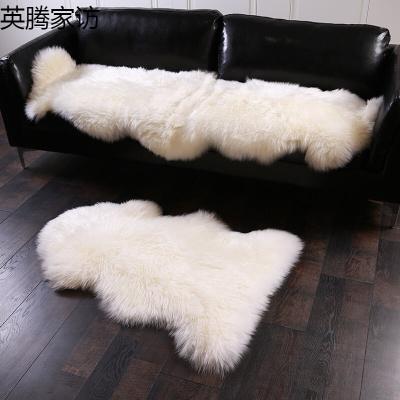 羊毛沙发垫羊皮飘窗垫欧式羊毛垫羊皮坐垫简约澳洲羔羊皮