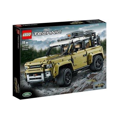 LEGO樂高機械組42110路虎衛士越野車2573顆粒11歲以上拼插玩具