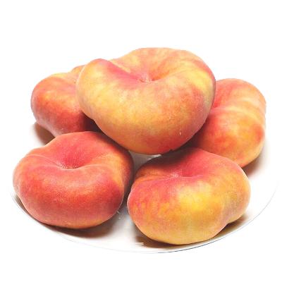 新疆蟠桃肉蟠桃扁桃新鲜水果桃子 带箱2.5kg 可开发票