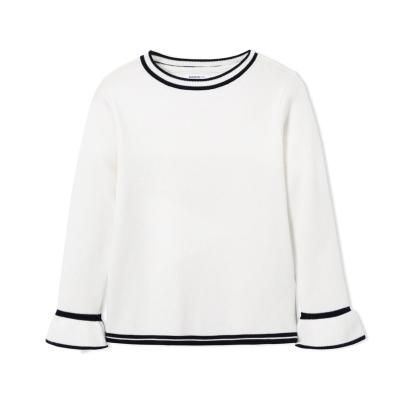 巴拉巴拉女童毛衣春冬兒童針織衫中大童套頭線衣韓版洋氣