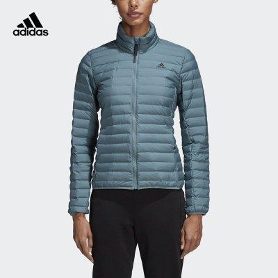 阿迪達斯(adidas)冬季新款女子保暖透氣運動休閑羽絨服 CY8730
