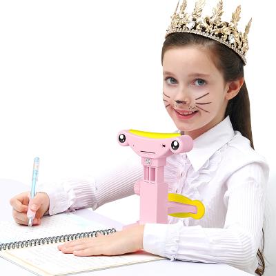 貓太子防近視坐姿矯正器兒童視力保護器糾正小學生寫字姿勢儀架護眼架矯正小孩幼兒低頭坐姿提醒器正姿愛眼架
