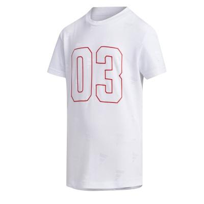 阿迪達斯(adidas)YB EL SS TEE 男大童裝訓練運動短袖T恤FM9839