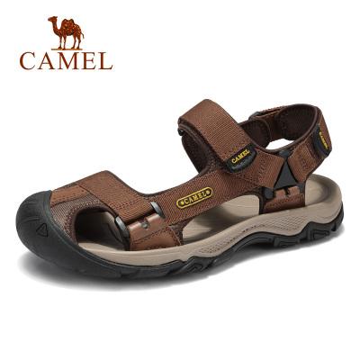 Camel骆驼户外沙滩凉鞋2019夏季新款防滑平底凉鞋复古百搭学生休闲男鞋