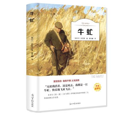 牛虻 書中文完整版 有聲伴讀(名家全譯)語文叢書中高學生青少年閱讀書籍 世界著名小說原版原著