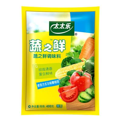 太太乐蔬之鲜调味料400g素食炒蔬菜调料品代替味精鸡精