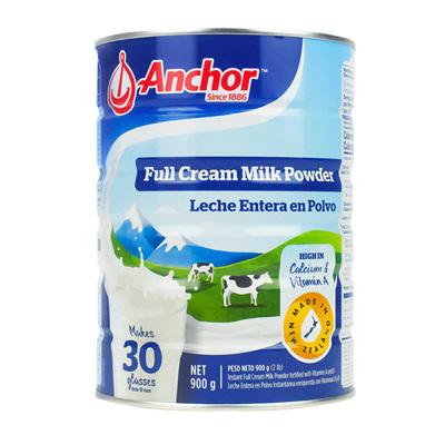 【产自新西兰】安佳(Anchor) 全脂高钙成人奶粉 900g/罐 进口奶粉 学生奶粉 澳大利亚进口