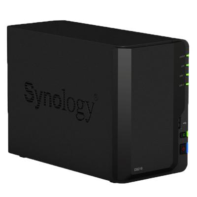 群晖 (Synology) DS218 2盘位 四核心 NAS 网络 存储 服务器 (无内置硬盘)