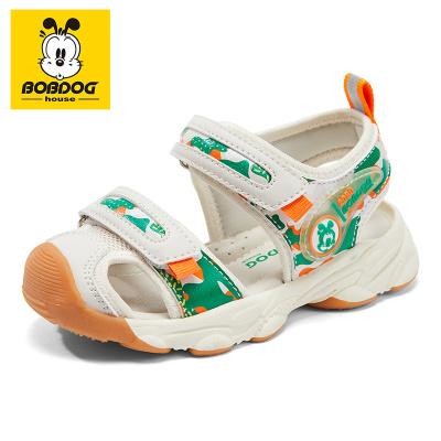 BOBDOG HOUSE巴布豆童鞋兒童涼鞋夏季男童女童寶寶1-3歲沙灘鞋B8656