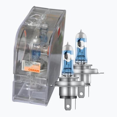 欧司朗(OSRAM)新夜行者激光限量版 汽车灯泡H4 远近一体大灯灯泡升级型卤素灯泡 增亮 一对装