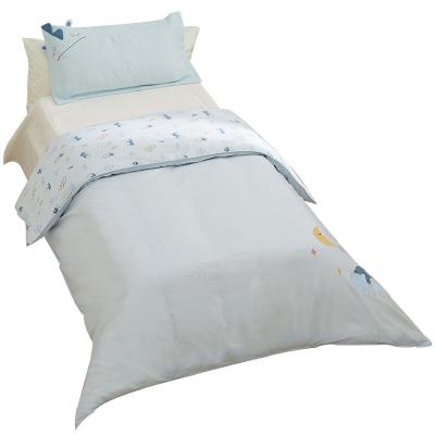棉花堂純棉被套嬰兒童床上用品純棉幼兒園寶寶小孩床品被罩冬單件