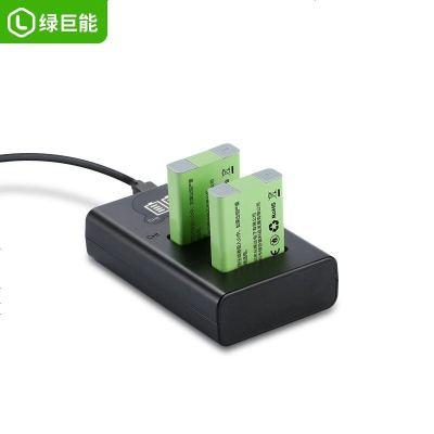 定制 綠巨能佳能NB-13L相機電池USB充電器G7X G5X G9X SX720HS墻插SX620座充SX73