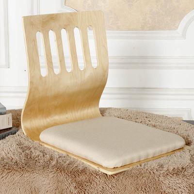 苏宁放心购榻榻米和室椅懒人板凳床上椅子宿舍飘窗靠背座椅无腿椅子 五孔麻布(原木 整装聚兴新款