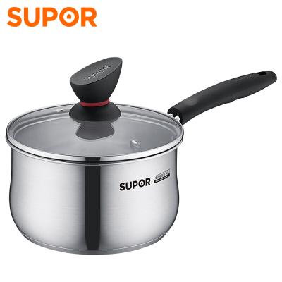 蘇泊爾(SUPOR) 精致304不銹鋼奶鍋 16cm 明火電磁爐通用ST16Z1