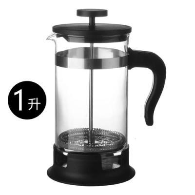 咖啡壺黃金蛋家用濾壓壺法壓壺法式手沖旅行咖啡器沖茶器 壓壺1公升/大號