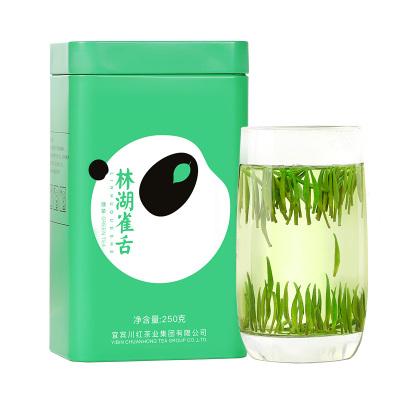 川紅雀舌毛尖綠茶茶葉2020散裝明前特級嫩芽四川竹葉雀舌250g/盒