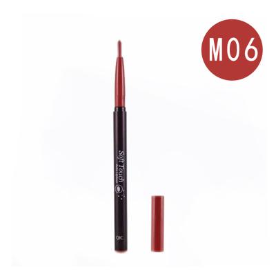 acare 防水唇筆不易脫色啞光紅色咬唇妝口紅保濕初學者彩妝 M06復古紅旋轉唇線筆