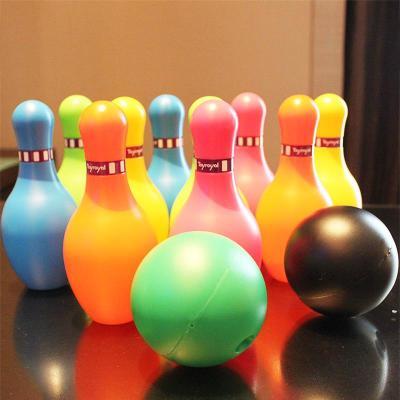 Toyroyal日本皇室玩具親子兒童健身戶外運動保齡球高爾夫球桿套裝[定制] 保齡球