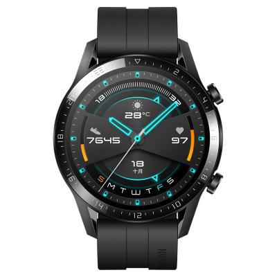 华为(HUAWEI)华为智能手表WATCH GT2 运动款 (46mm) 黑色 两周续航+户外运动手表+实时心率+蓝牙手表+NFC支付 华为GT2手表