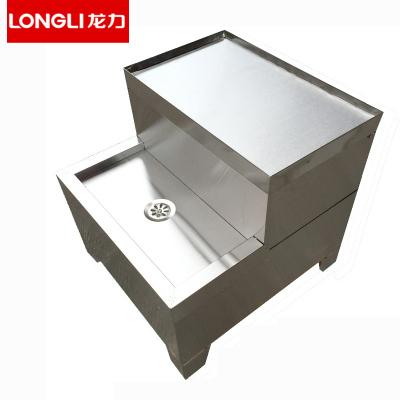 龍力(LONGLI)開水器商用開水機30L-60L全自動開水箱電熱水箱用不銹鋼底座 搭配底座